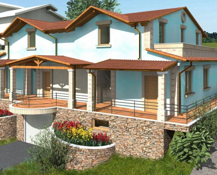 Casa in legno realizzazione macerata marche centro italia for Case prefabbricate nelle marche